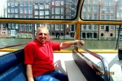 Лебедев Константин Алланович, Амстердам, Путешествие на своем автомобиле в Европу