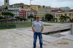 Лебедев Константин Алланович, Путешествие на автомобиле в Европу, Лиссабон