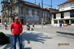 Лебедев Константин Алланович, путешествие на своем автомобиле в Европу, Порту, Португалия