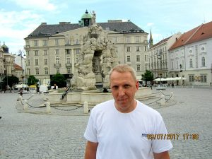 Лебедев Константин Алланович, Путешествие в Европу на своем автомобиле, Брно, Чехия
