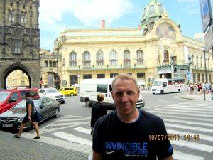 Лебедев Константин Алланович, Путешествие в Европу на своем автомобиле, Прага, Чехия
