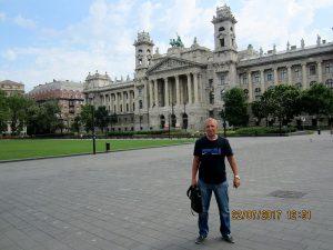 Лебедев Константин Алланович, Будапешт, Венгрия