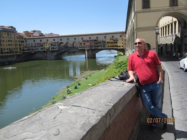 Лебедев Константин Алланович во Флоренции