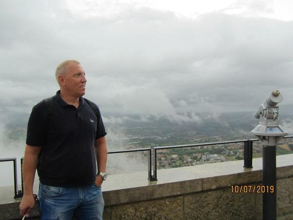 Лебедев Константин Алланович в Сан-Марино