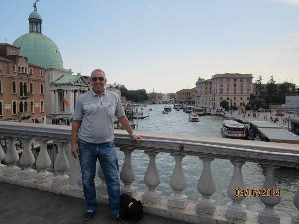 Лебедев Константин Алланович в Венеции